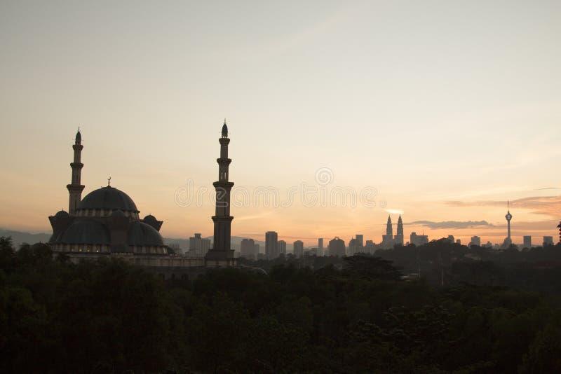Una mezquita Kuala Lumpur fotos de archivo libres de regalías