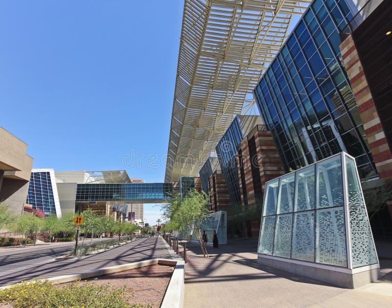 Una mirada en el centro de convención de Phoenix imagen de archivo