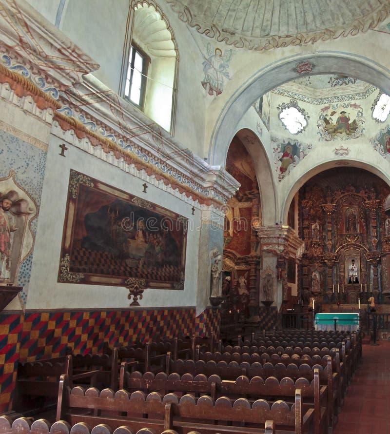 Una misión San Xavier del Bac, Tucson foto de archivo libre de regalías