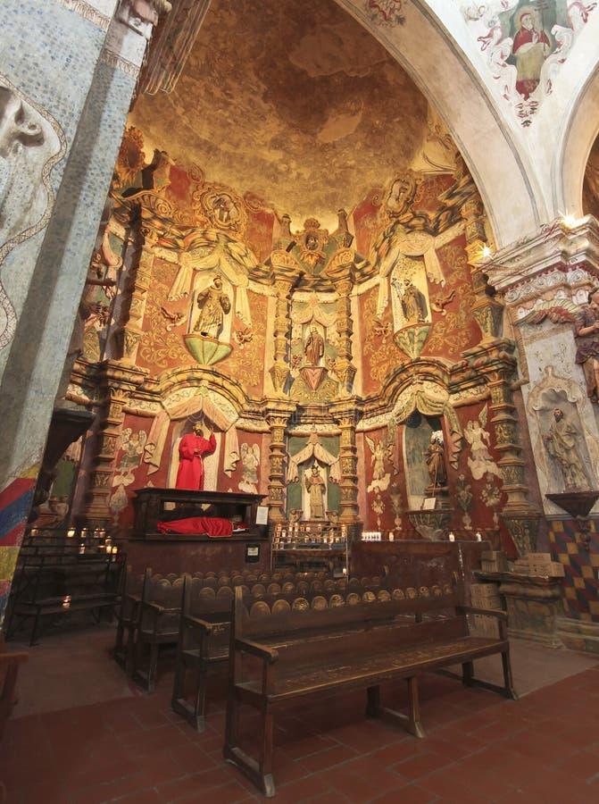Una misión San Xavier del Bac, Tucson fotos de archivo libres de regalías