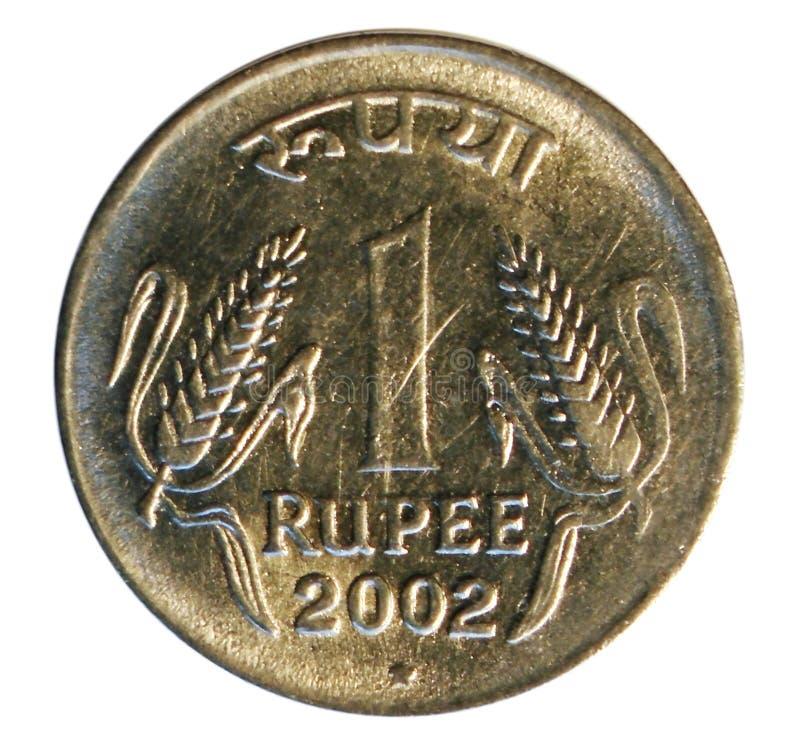 Una moneda de la rupia Banco de la India fotos de archivo