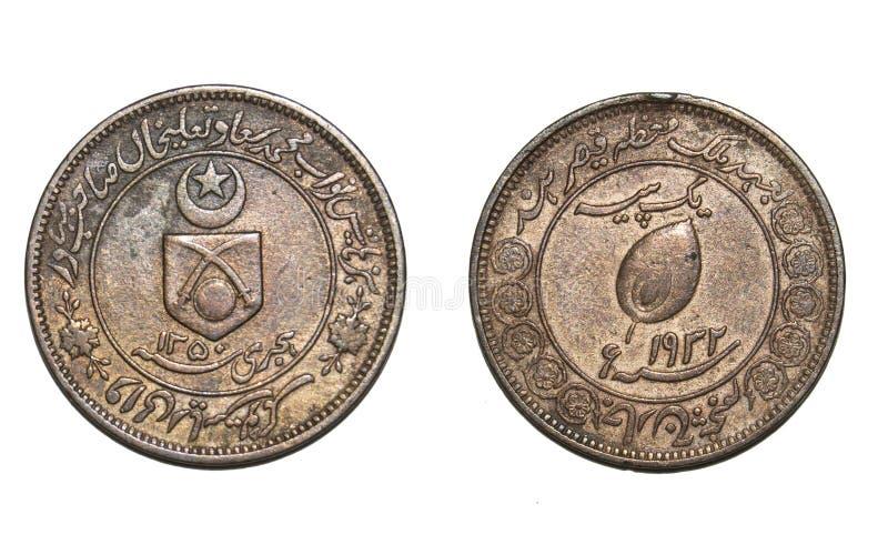 Una moneda de Paisa de estado nativo fotos de archivo libres de regalías