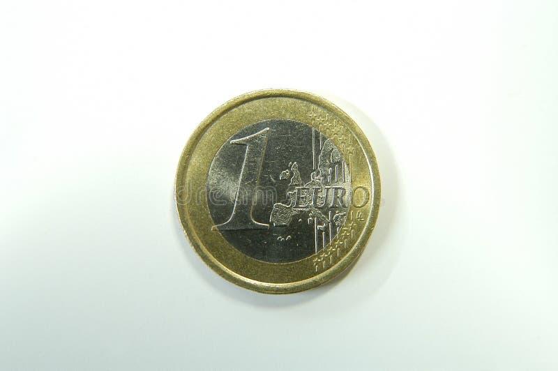 Una moneda euro fotos de archivo libres de regalías