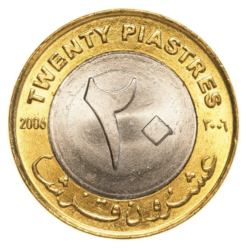 una moneta sudanese da 25 piastre immagini stock libere da diritti