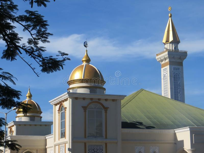 Una moschea in Tangerang fotografie stock libere da diritti