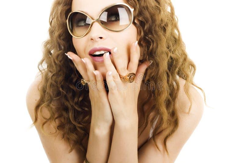 Una muchacha atractiva fotografía de archivo libre de regalías