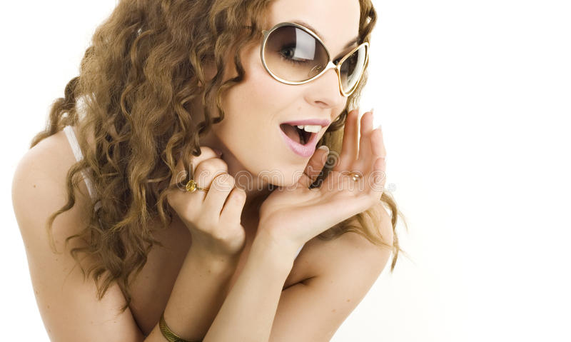Una muchacha atractiva foto de archivo libre de regalías