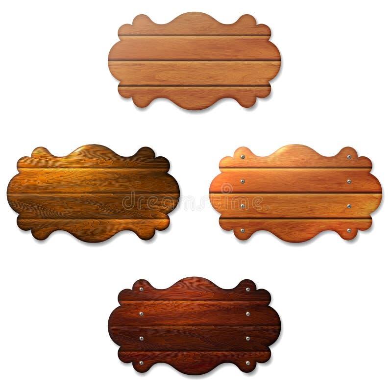 Una muestra de madera stock de ilustración