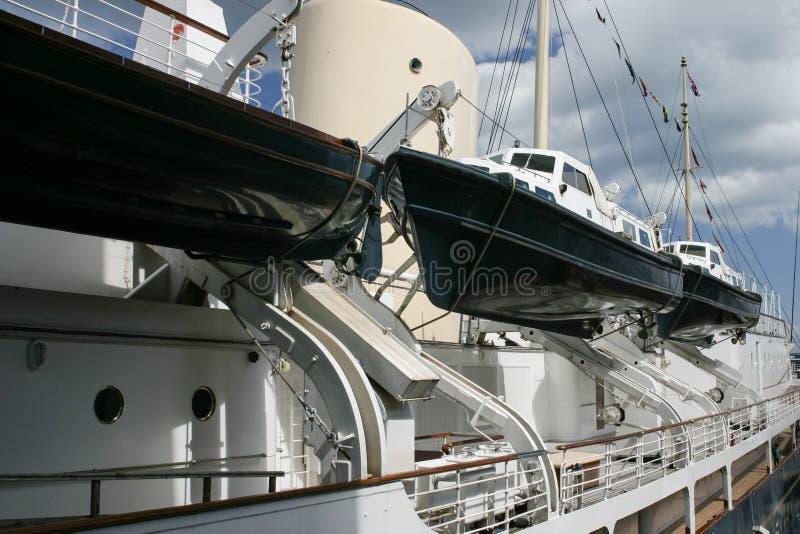 Una nave grande del crucero fotografía de archivo libre de regalías