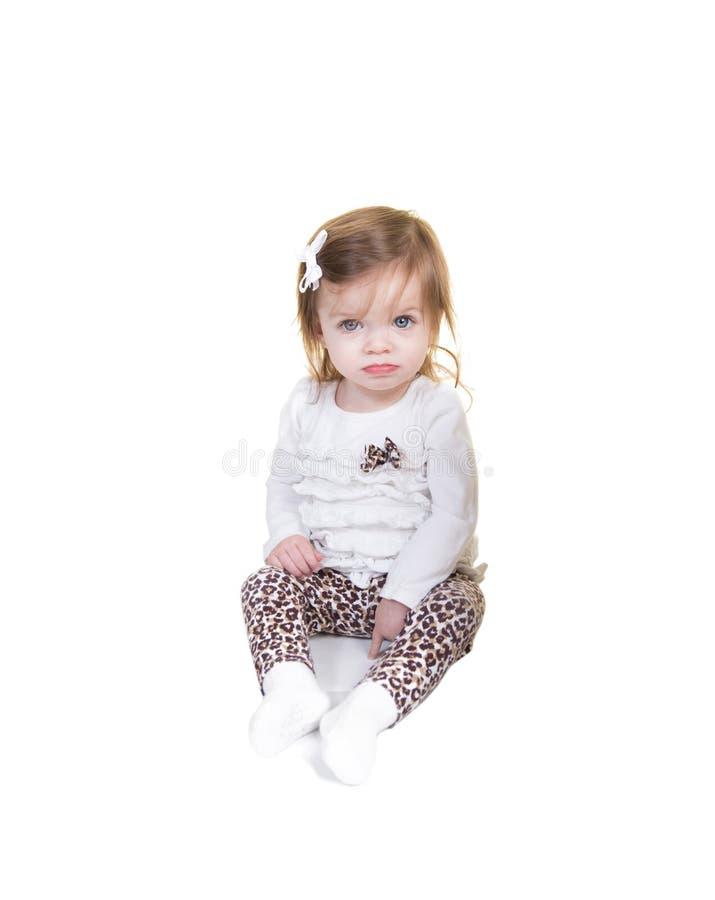 Una niña pequeña fotografía de archivo libre de regalías
