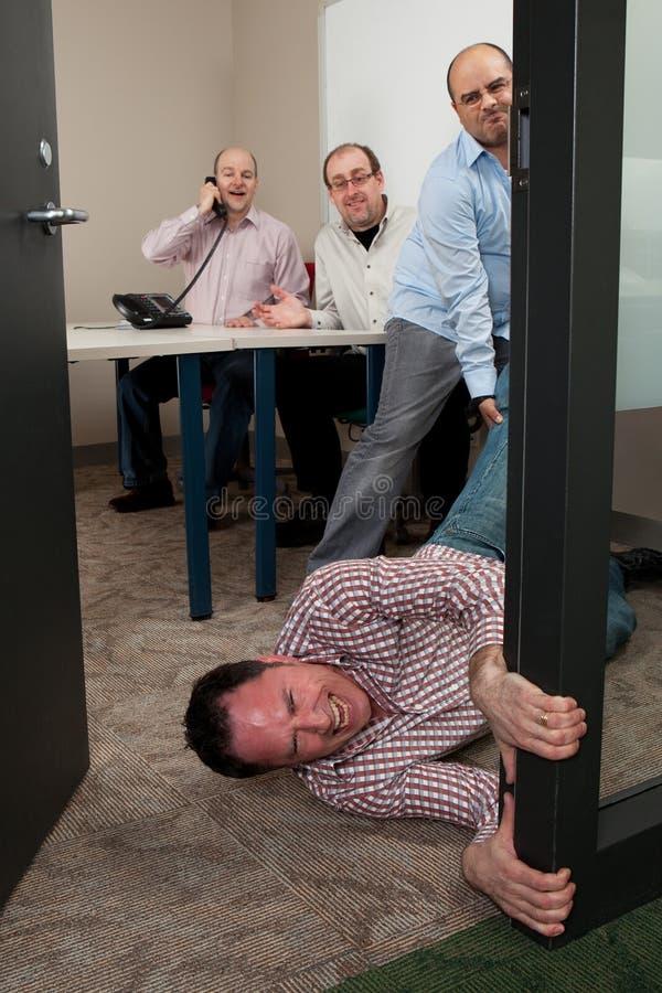 Una non altra riunione!!! fotografia stock