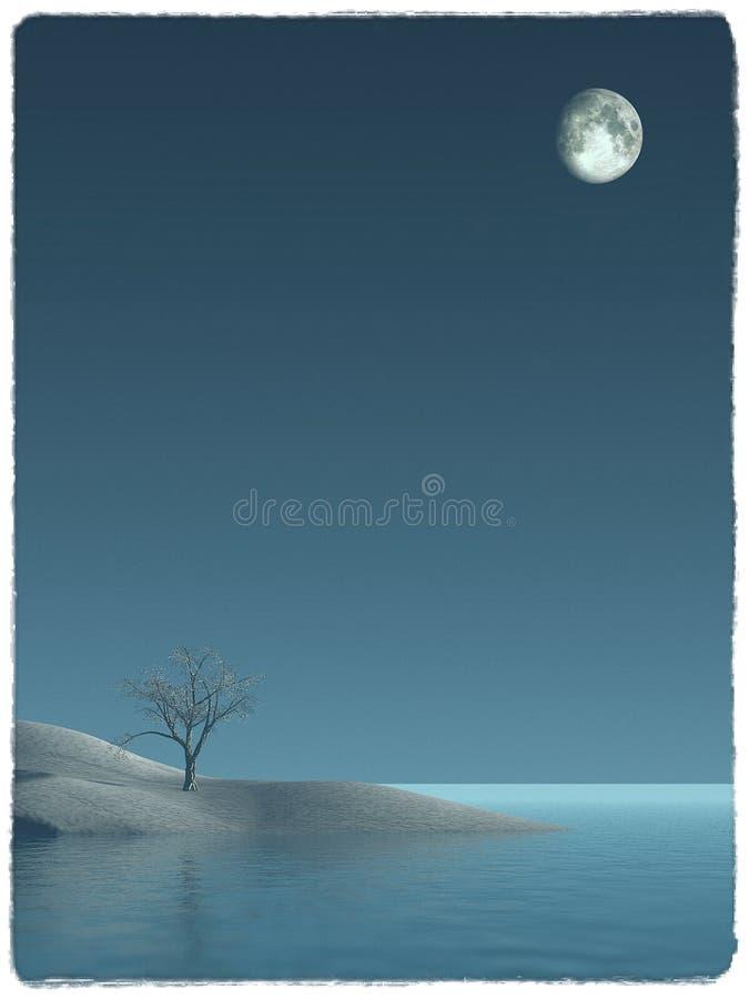 Una notte magica fotografie stock
