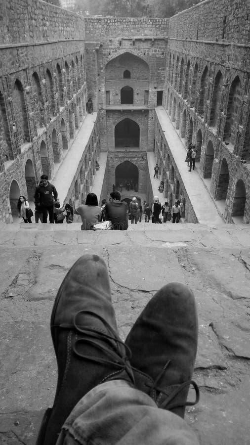 Una observación del pie fotografía de archivo libre de regalías