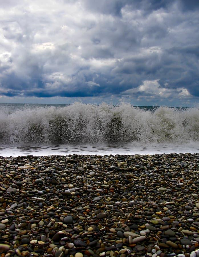 Una onda agradable imagenes de archivo