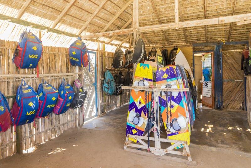 Una opinión Cabo de la Vela en Colombia fotos de archivo