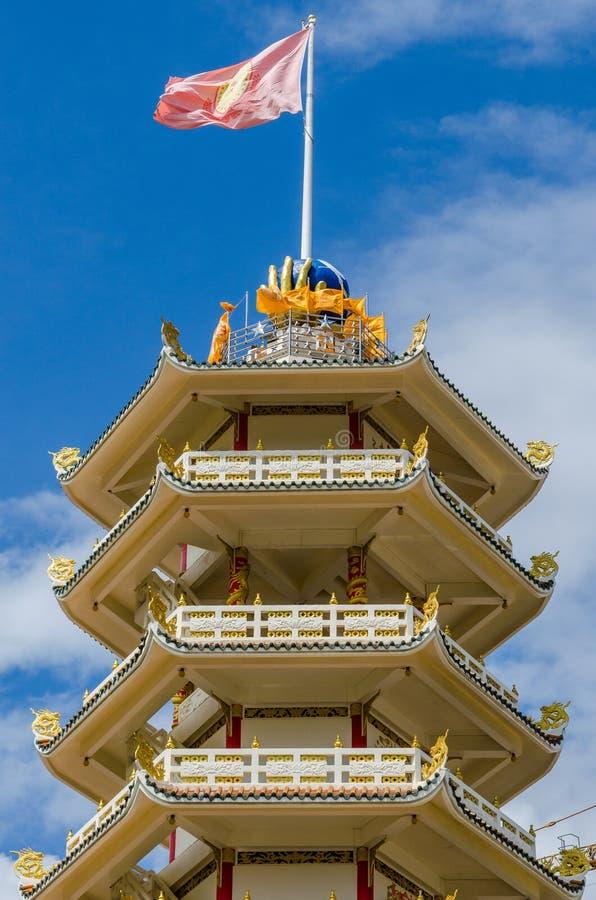 Una pagoda china de Hat Yai imágenes de archivo libres de regalías