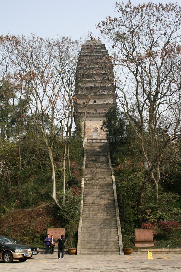 Una pagoda del chino tradicional foto de archivo libre de regalías