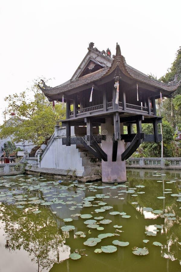 Una pagoda del pilar imagenes de archivo