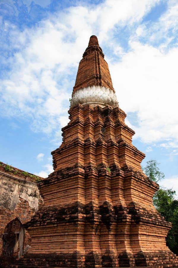 Una pagoda in Lopburi fotografia stock libera da diritti
