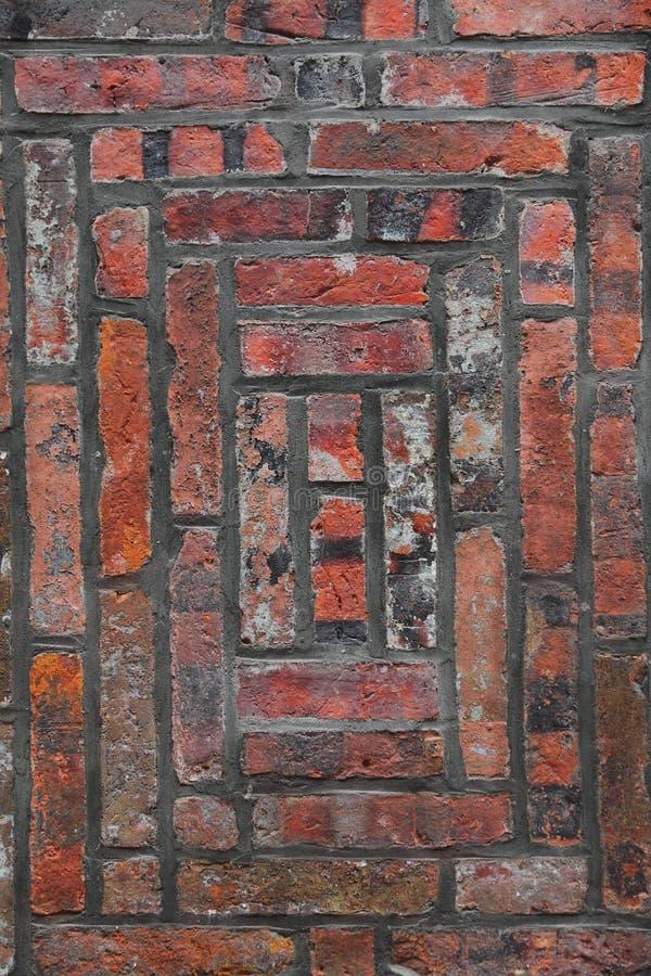 Una pared de ladrillo vieja foto de archivo libre de regalías