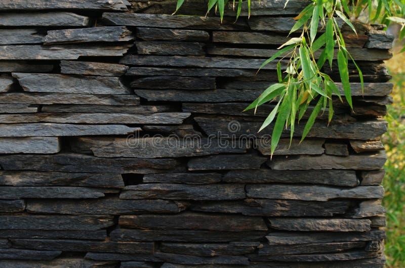 Una parete della pietra fotografie stock libere da diritti