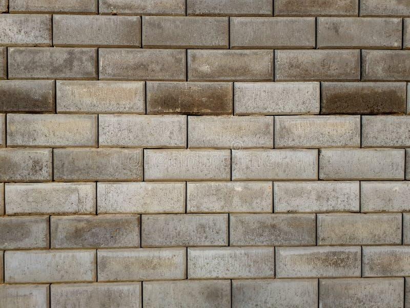 Una parete della pietra grigia bricklaying immagine stock libera da diritti