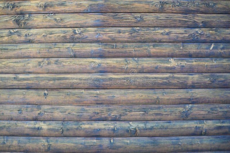 Una parete di belle progettazioni di legno per la stampa degli ambiti di provenienza fotografie stock libere da diritti
