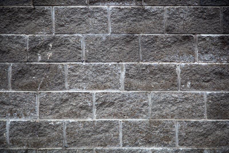 Una parete di gray del primo piano immagini stock