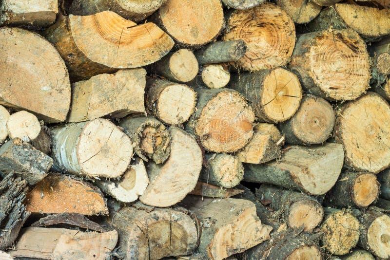 Una parete di legno immagini stock libere da diritti