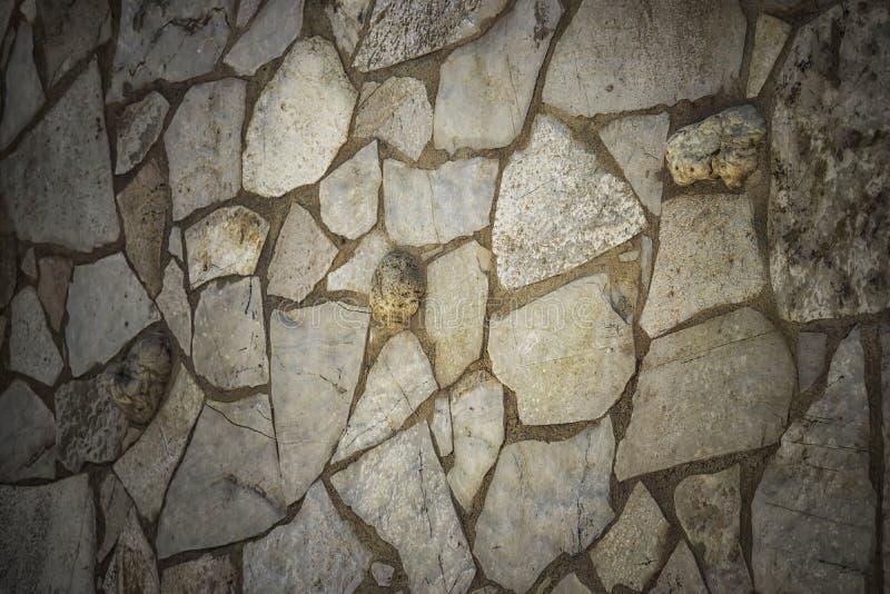 Una parete di pietra immagini stock libere da diritti