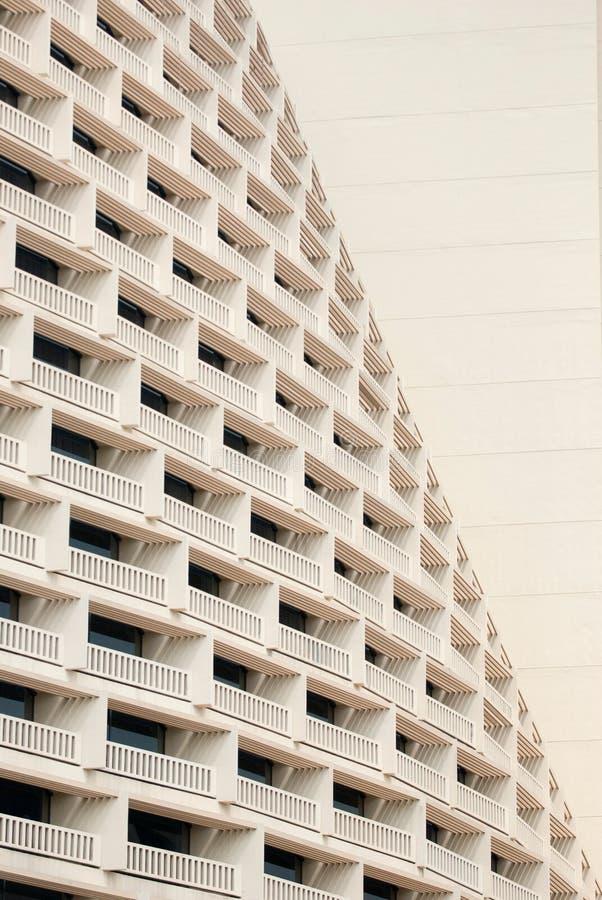 Una parte del frente un hotel fotografía de archivo libre de regalías