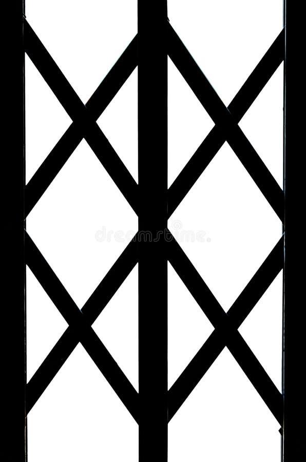 Una parte della simmetria del ferro battuto illustrazione di stock