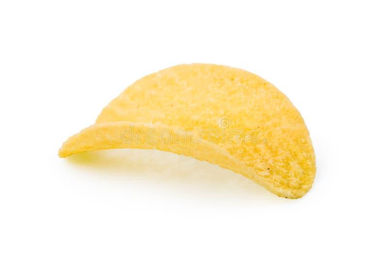 Una patata crujiente foto de archivo