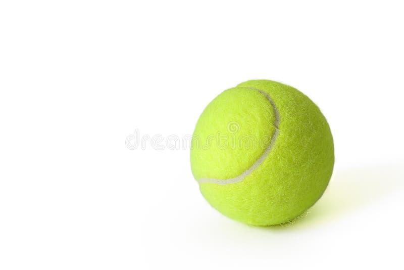 Una pelota de tenis verde fotografía de archivo libre de regalías