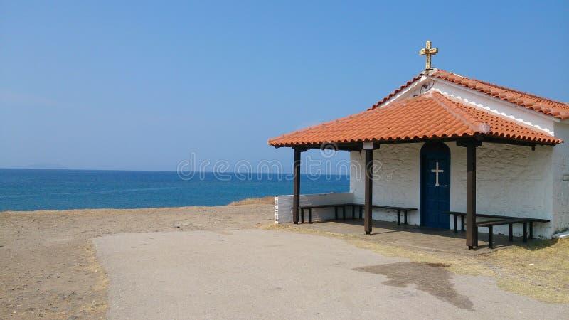 Una pequeña iglesia imagen de archivo libre de regalías