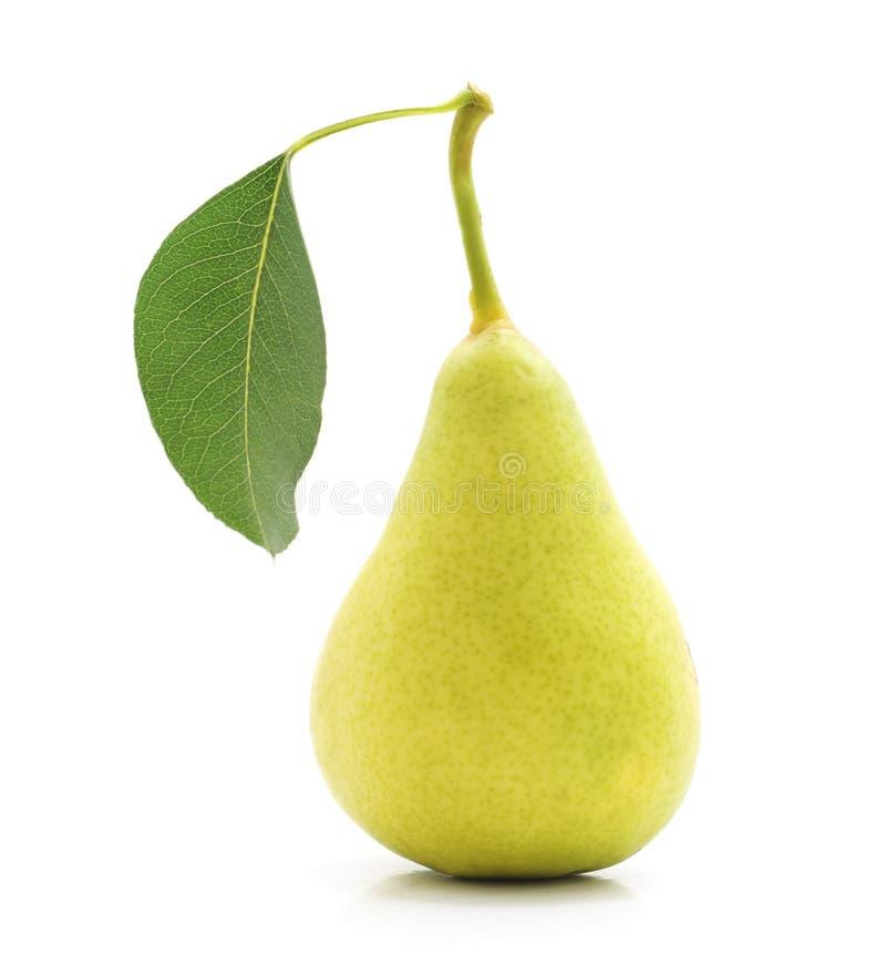 Una pera madura foto de archivo