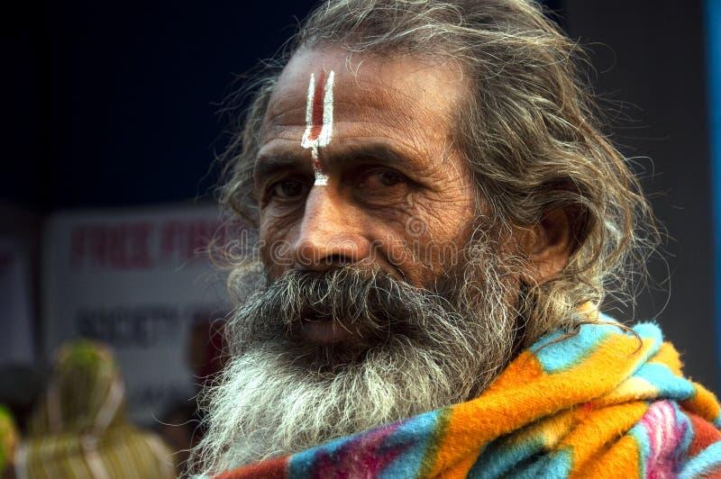 Una persona religiosa fotos de archivo