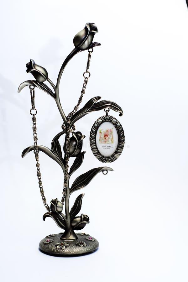 Una piccola scultura Singole figurine immagine stock