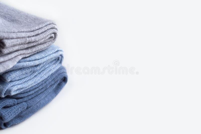Una pila de calcetines fotos de archivo