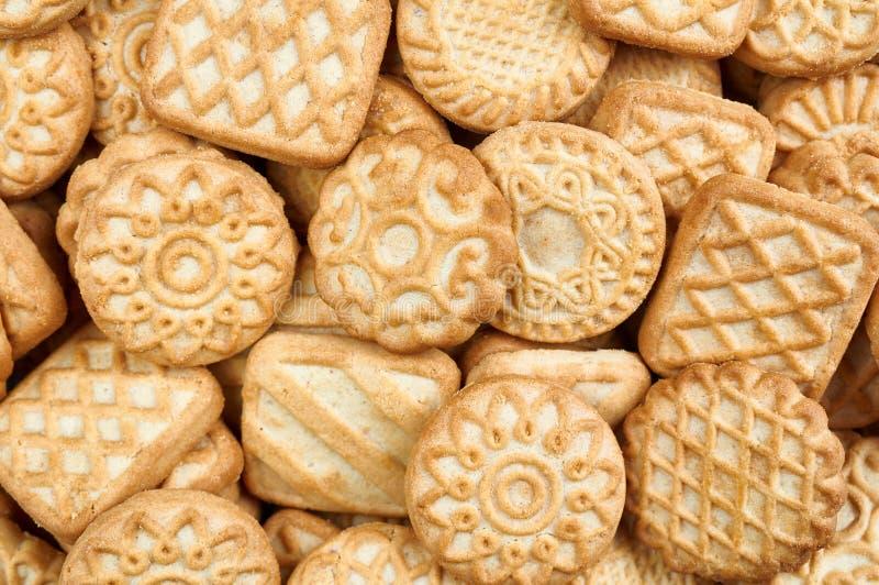 Una pila de galletas fotografía de archivo libre de regalías