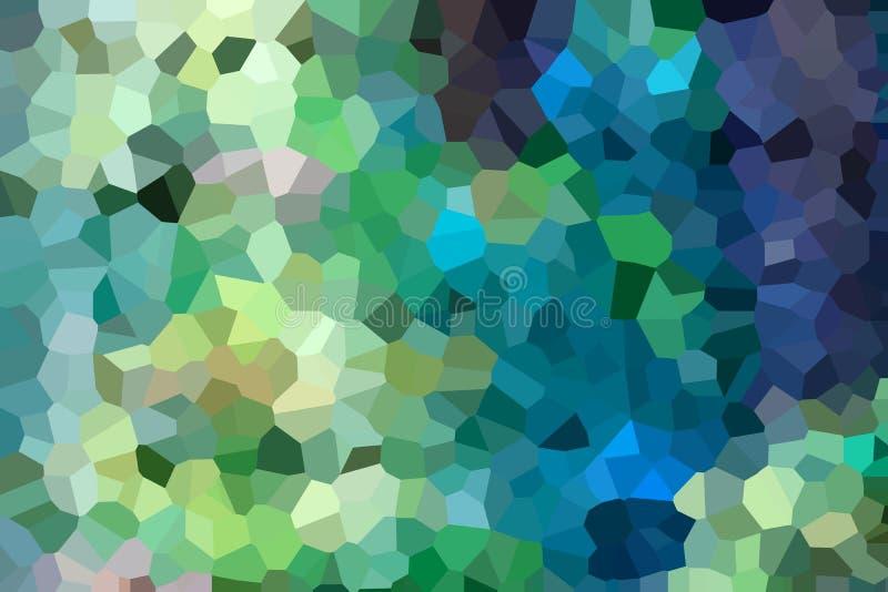 Una pila de losas de mármol multicoloras Muestras de primer de piedra que hace frente decorativo Fondo colorido hermoso de la par stock de ilustración