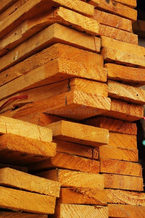 Una pila de madera. fotos de archivo