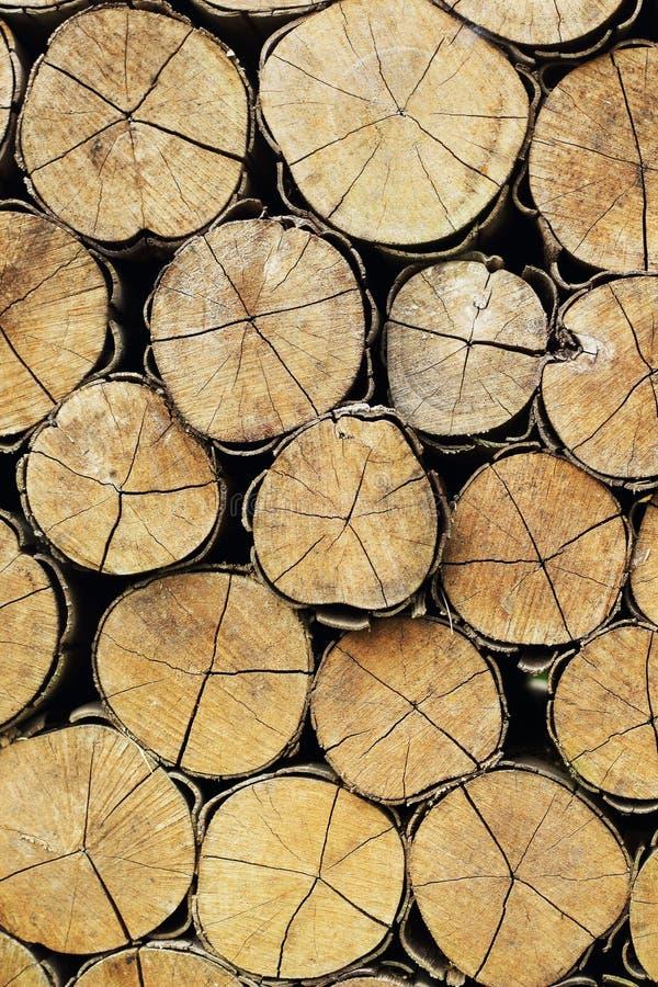 Una pila de madera. foto de archivo libre de regalías