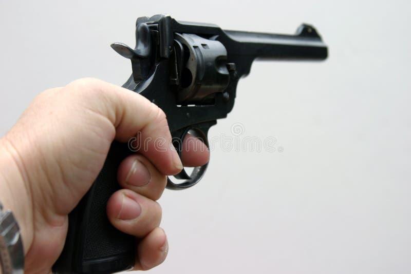 Una Pistola #3 Da .45 Calorie Immagini Stock Libere da Diritti