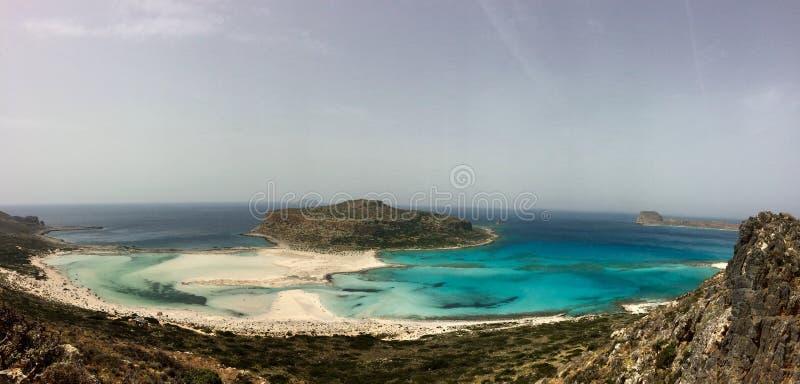 Una playa del paraíso en Creta fotos de archivo libres de regalías