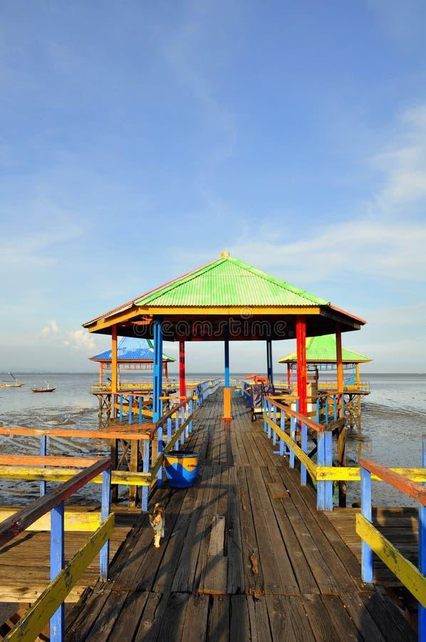 Una playa tropical fotografía de archivo