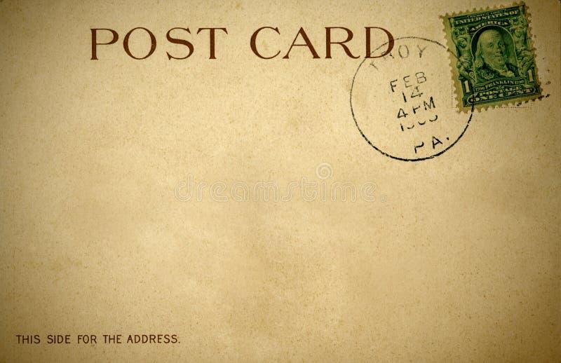 Una postal retra apenada a partir de 1900s fotografía de archivo libre de regalías