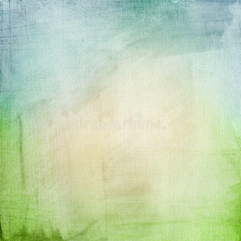 Una priorità bassa di carta in azzurro e nel verde fotografia stock libera da diritti