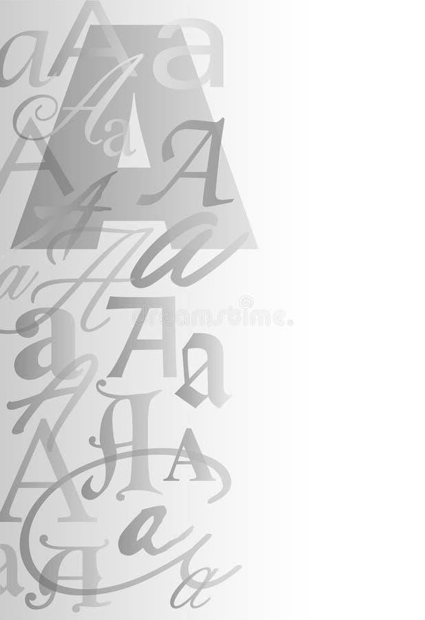 Una priorità bassa/ENV del collage della lettera royalty illustrazione gratis