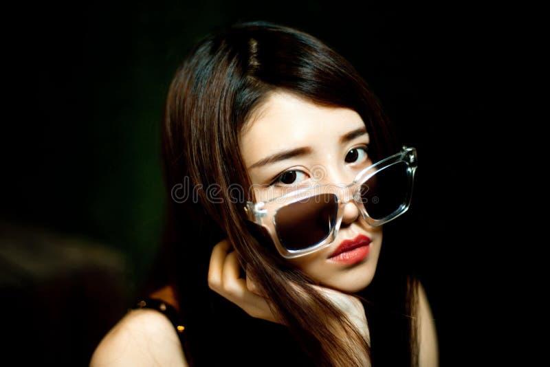 Una ragazza cinese fotografia stock libera da diritti